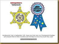 imageChuckee Cheese Grandparents Day Badges