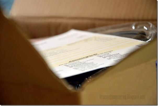 5 von 12 September - Paket zurück geschickt