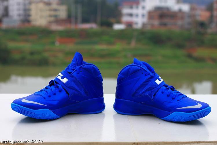 blue lebron soldier 7