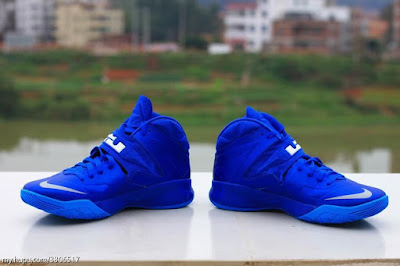 nike zoom soldier 7 ss royal blue 1 02 Sample Look at Nike Zoom Soldier VII (7) Dyed in Royal Blue