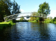 Private bridge at Costessey