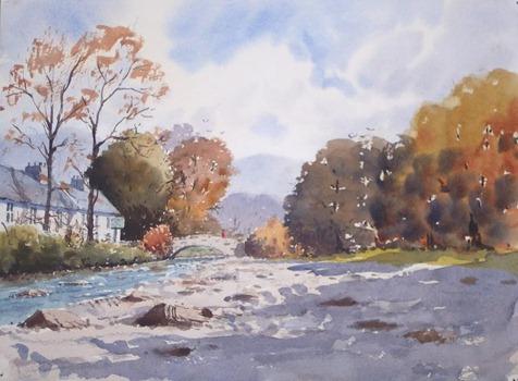 River Wharfe Hubberholme