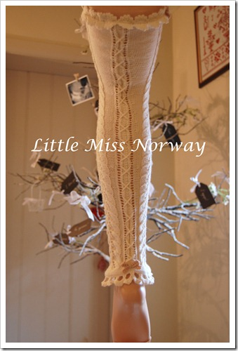 WINTER WHITE VM LEGWARMERS 12 4