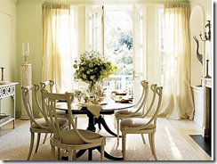 Dining room table and chairs -Decor Pad