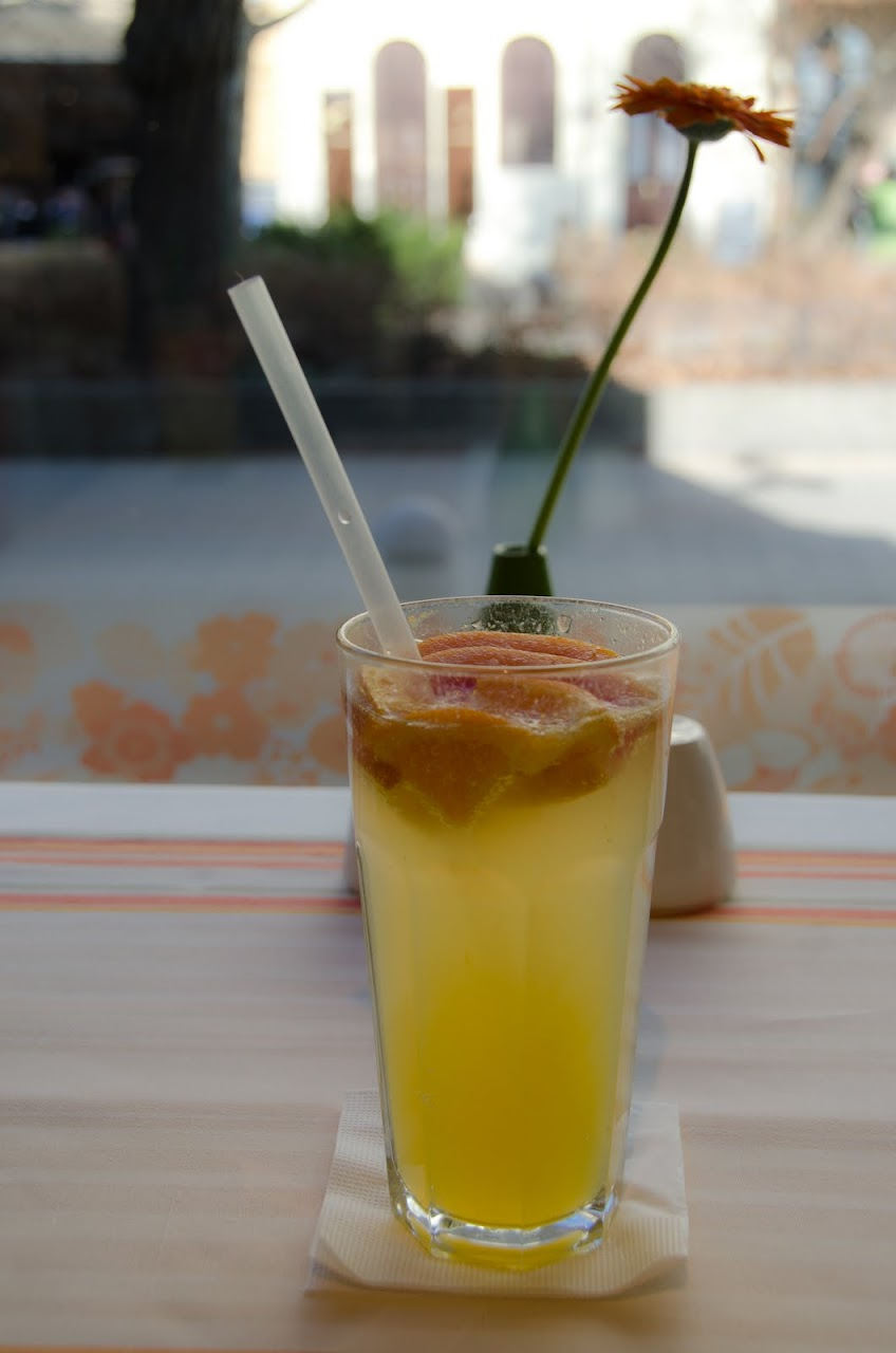 Winter lemonade at Menza Etterem