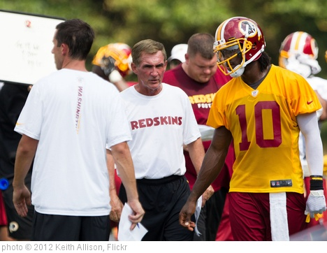 'Mike Shanahan,  Robert Griffin III' photo (c) 2012, Keith Allison - license: http://creativecommons.org/licenses/by-sa/2.0/