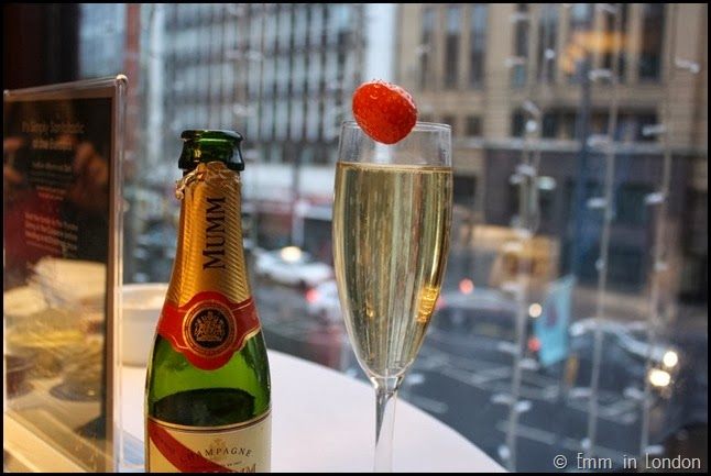 Mumm Champagne - Europa Belfast afternoon tea
