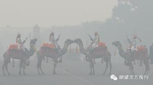 同在雾霾中,站在印度羡慕中国