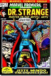 P00003 - Marvel Premiere  - Dr. Strange - por Mastergel #3