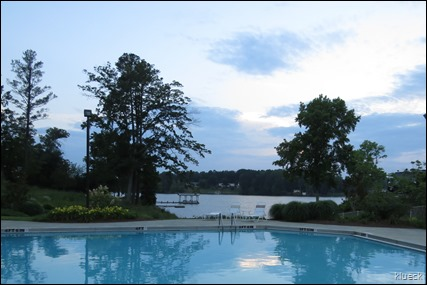 pool at Lake Greenwood Resort and Marina
