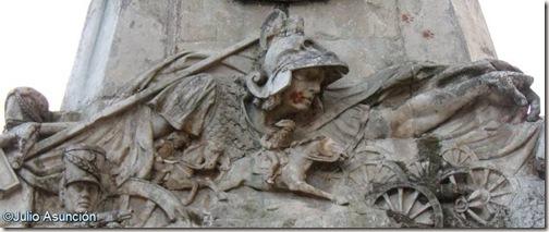 Huída de José Bonaparte - Monumento a la Batalla de Vitoria