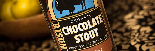 image of Bison Brewing Chocolate Stout courtesy of Kyle Roth's Flickr page