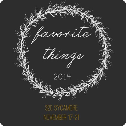 favorite things 2014