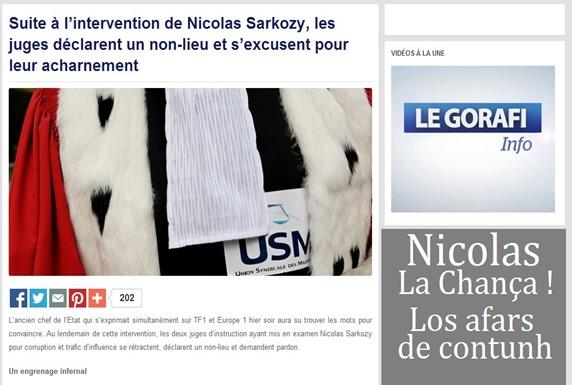 Sarkozy La chança