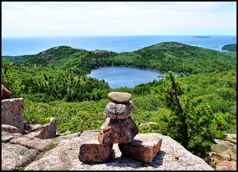 02h - Champlain Mtn - South Ridge Trail - another amazing view of The Bowl