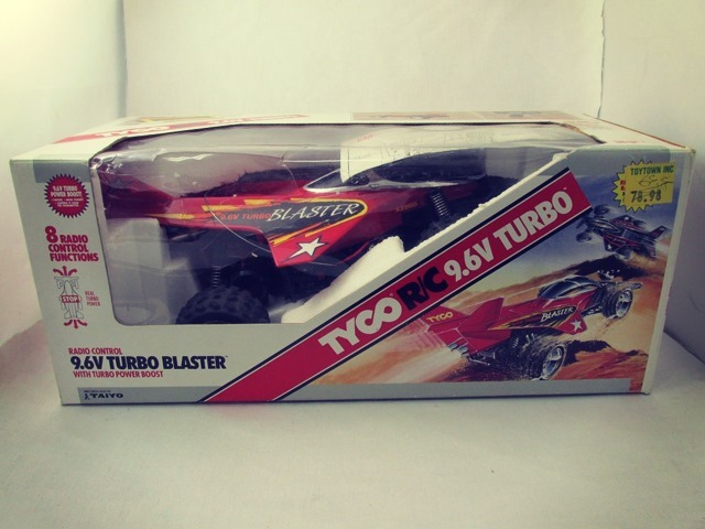 Blaster Remote Control Car Box