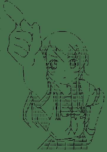 高坂桐乃 指差し(俺の妹がこんなに可愛いわけがない)