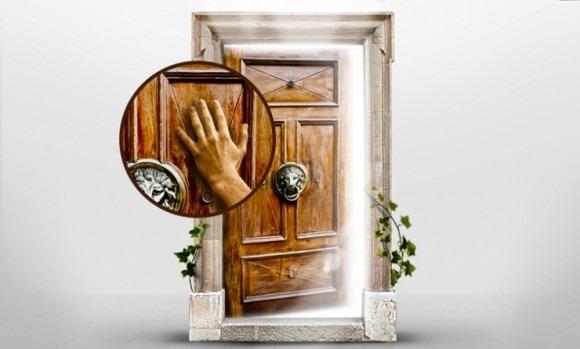 google secret door