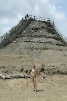 The next day, we went to bathe in the infamous mud volcano.