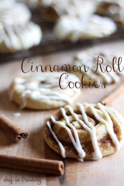 Cinnamon Roll Cookies at Chef in Training
