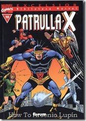 P00010 - Biblioteca Marvel - Patrulla-X #10