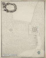1770 - DGB Dalhof PLAN van de OMMER SCHANS a. Het Majoors en Capteijns Logement b. Het Arsenaal c. Blok Barngüen d. Sortien. Waar het Pulver en de brantstoffen leggen ### Bron: OudOmmen - ontvangen van Streekmuseum Ommen