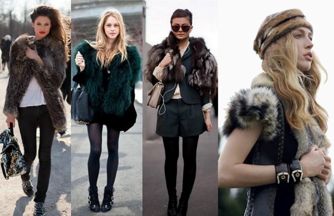look para o inverno pecas e casacos de pele