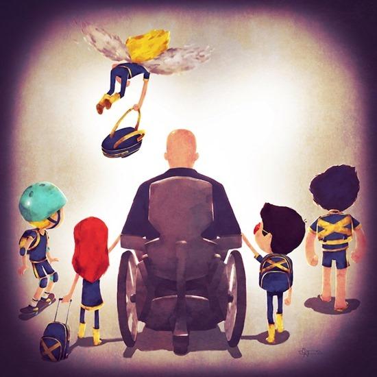 Super heróis em família 11