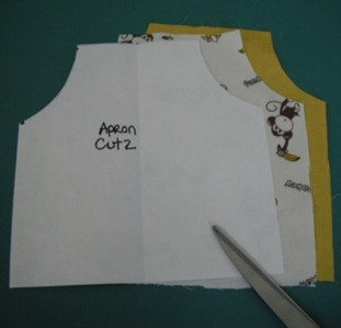 doll apron step 4