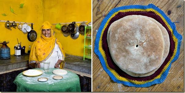 Portraits de grand-mères et leurs plats cuisinés (8)