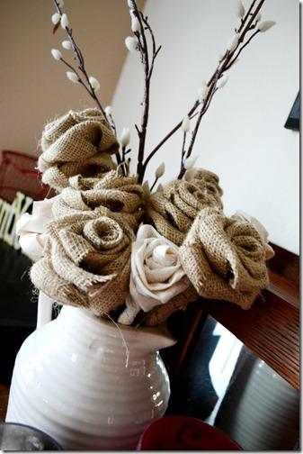 burlap flowers 2