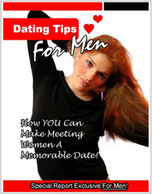 Cover of C Kellogg's Book Dating Tips For Men Special Report