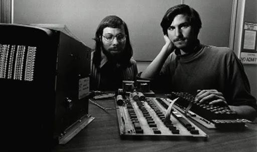 Стив Джобс и Стив Возняк, создатели Apple. Фото: Кимберли Уайт