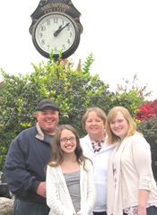 Assumption college weekend tommy lily me katie clock2. 9.29.12