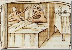 Une épouse enthousiaste, Roman du comte d'Artois, Paris, BnF, ms Français 11610,folio 87 verso (XVe siècle)