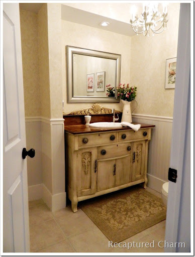 laundry powder room
