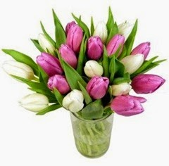 Mothers Day Flowers (Free Delivery) - Sweetheart Tulips