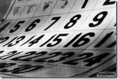 Datas calendario