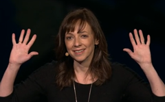Susan Cain live at TED