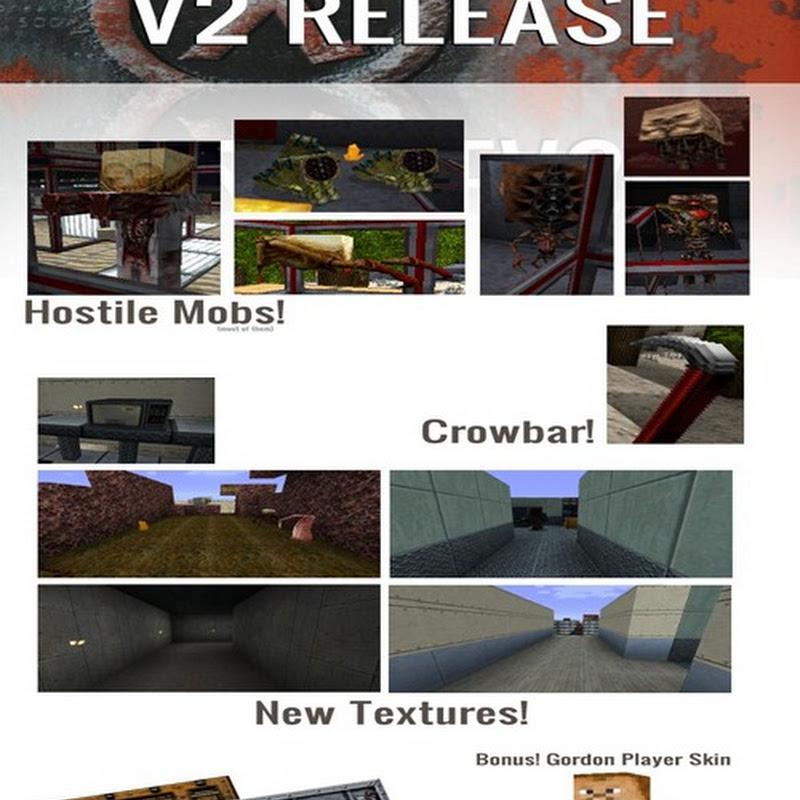 Minecraft 1.2.5 - Half life Texture pack (64x)