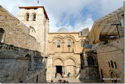 Holy Sepulcher facade and bell tower, tb010312291
