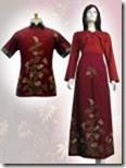 gambar dress batik keren