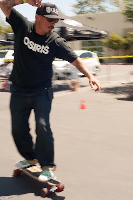 All around and top Skater Dennis Martinez from the 70's showing his slalom and also his freestyle skills, he still has his moves!