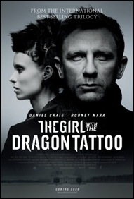 The Girl with the Dragon Tattoo (2011) - poster