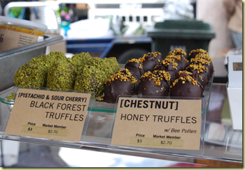 Made with the darkest of chocolate, these black forest truffles deserve some kind of award!!