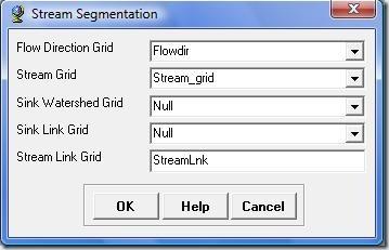 Ventana Stream Segmentation