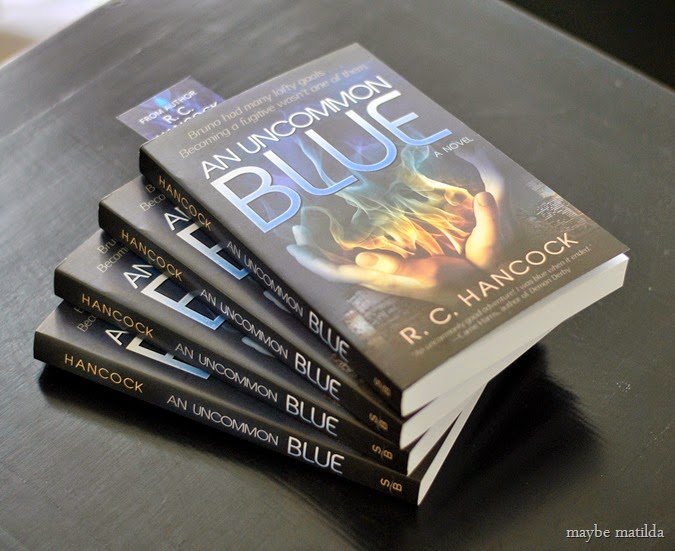 An Uncommon Blue // Win a signed copy!
