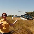 Helikopterflug © Foto: Ulrike Pârvu | Outback Africa Erlebnisreisen