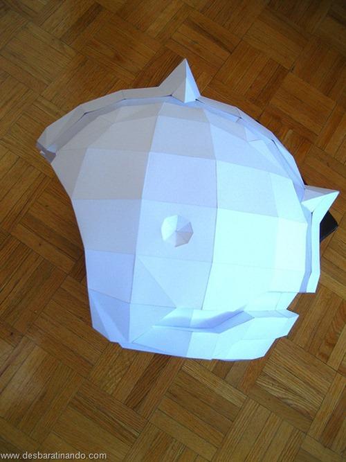 armadura metroid samus papercraft papel desbaratinando  (9)