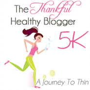 2nd Annual Thankful Healthy Blogger 5K